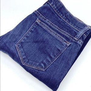 Womens J Crew Toothpick Jeans 28x28 LIKE NEW